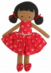 Alimrose Designs Soft Doll - Audrey 25cm - Red