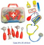 Portable Medical Doctors Kit in Carry Case 11pc