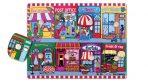 Children's Educational Wooden Peg Puzzle - Let's Go Shopping