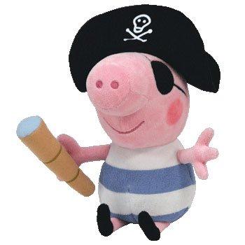a9bd1b3b495 TY Beanie Babies Peppa Pig George - Pirate Costume