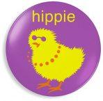 Jane Jenni Melamine Dinner Plate - Hippie Chick