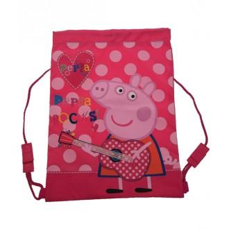 Peppa Pig Sports Swimming / Library Bag - Peppa Rocks