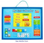 Wooden Educational Magnetic My First Calendar & Weather Chart
