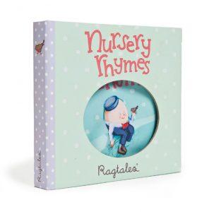Ragtales Nursery Rhyme Rag Book in Gift Box