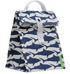 Lunchskins Lunch Tote - Navy Shark