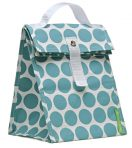 Lunchskins Lunch Tote - Aqua Dot