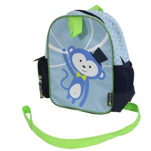 Itzy Ritzy Toddler Backpack - Monkey