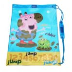 Peppa Pig George Sports Swimming / Library Bag - Blue