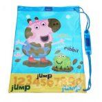 Peppa Pig George Sports Swimming / Library Bag - Blue
