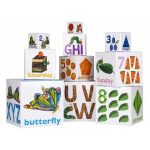 The Very Hungry Caterpillar Nesting & Stacking Learning Blocks