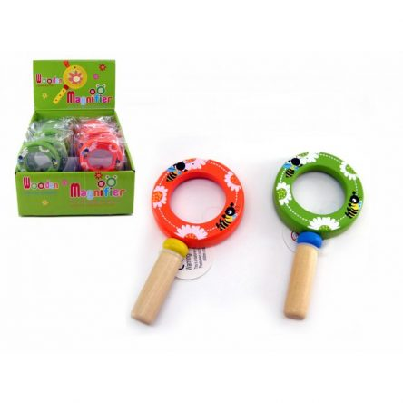 Kaper Kidz Wooden Magnifying Glass