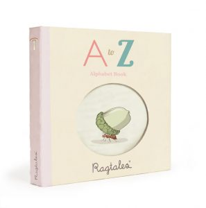 Ragtales ABC Rag Book in Gift Box