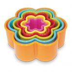Creative Flower Shaped Cookie / Playdoh Cutters - Set 6
