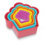 Creative Cupcake Shaped Cookie / Playdoh Cutters - Set 5