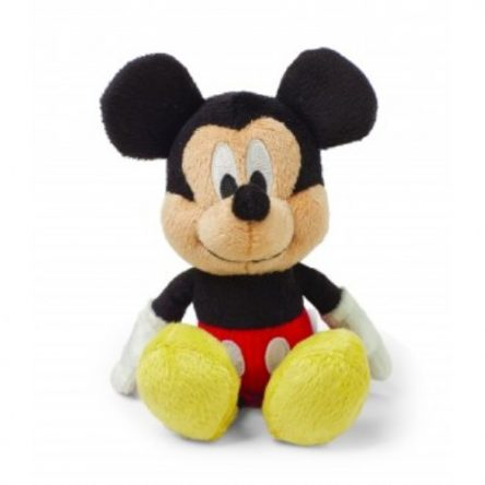 Disney Baby Mickey Mouse Jingle Bell Rattle Soft Toy