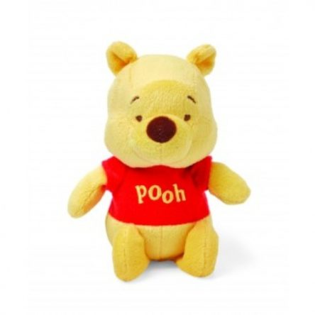 Disney Baby Winnie The Pooh Jingle Bell Rattle Soft Toy