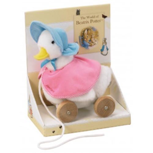 Beatrix Potter Pull Along Soft Bunny Jemima Puddle Duck