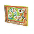 FRED Dinner Winner Fun Childrens Food Plate