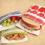 Lunchskins SANDWICH Bags - Reusable Lunch Bag - Alphabet