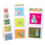 Beatrix Potter Nesting & Stacking Learning Blocks - Peter Rabbit