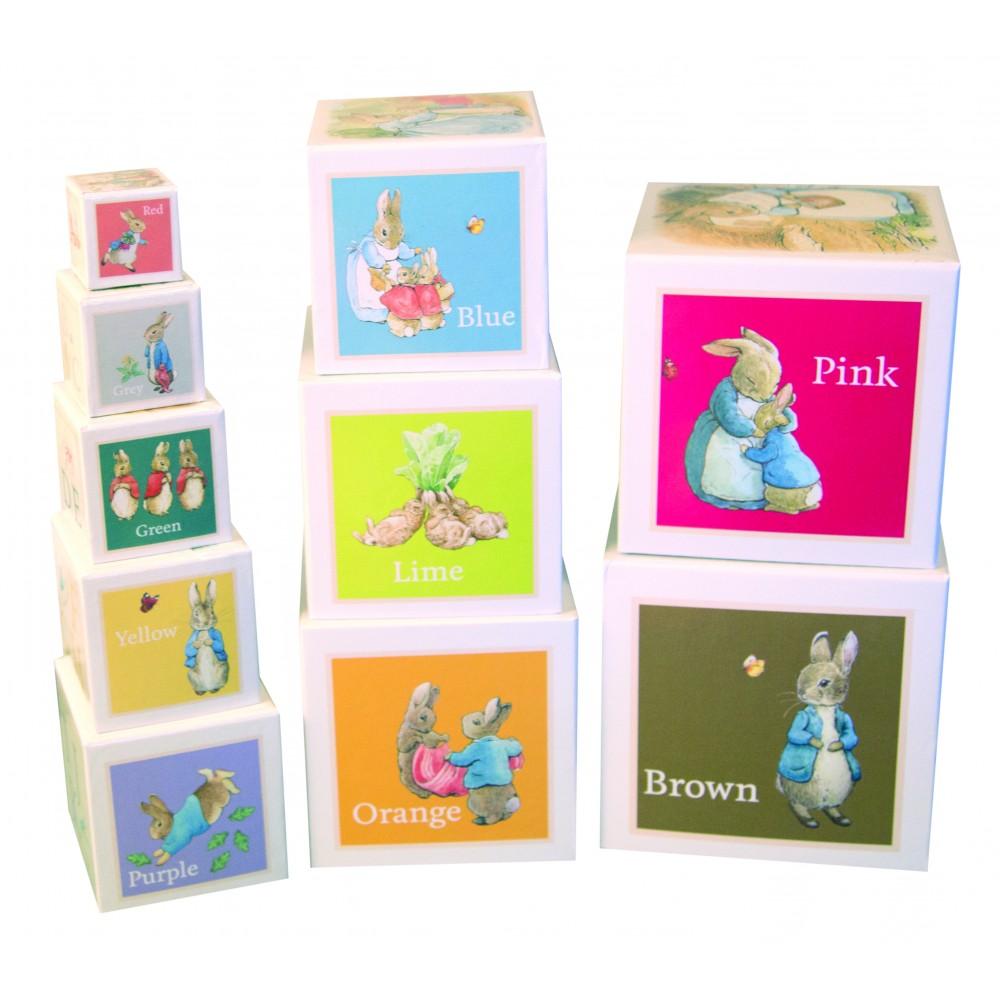 Beatrix Potter Nesting & Stacking Learning Blocks - Peter Rabbit