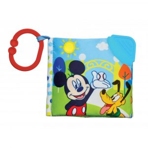 Disney Baby Mickey Mouse Clip On Soft Book