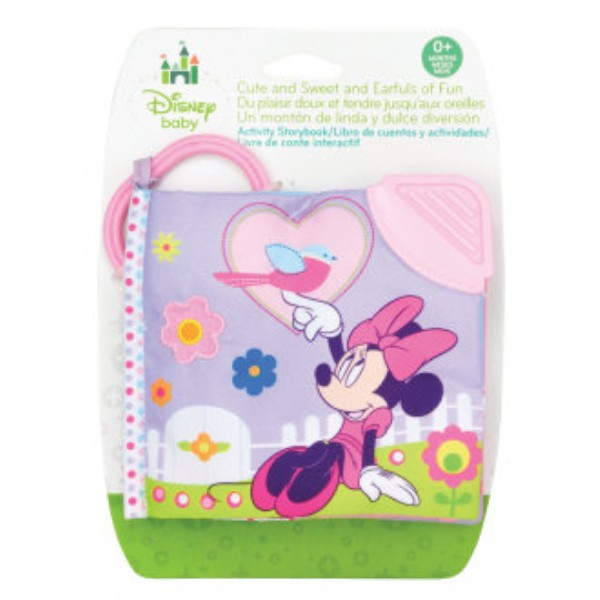 Disney Baby Minnie Mouse Clip On Soft Book
