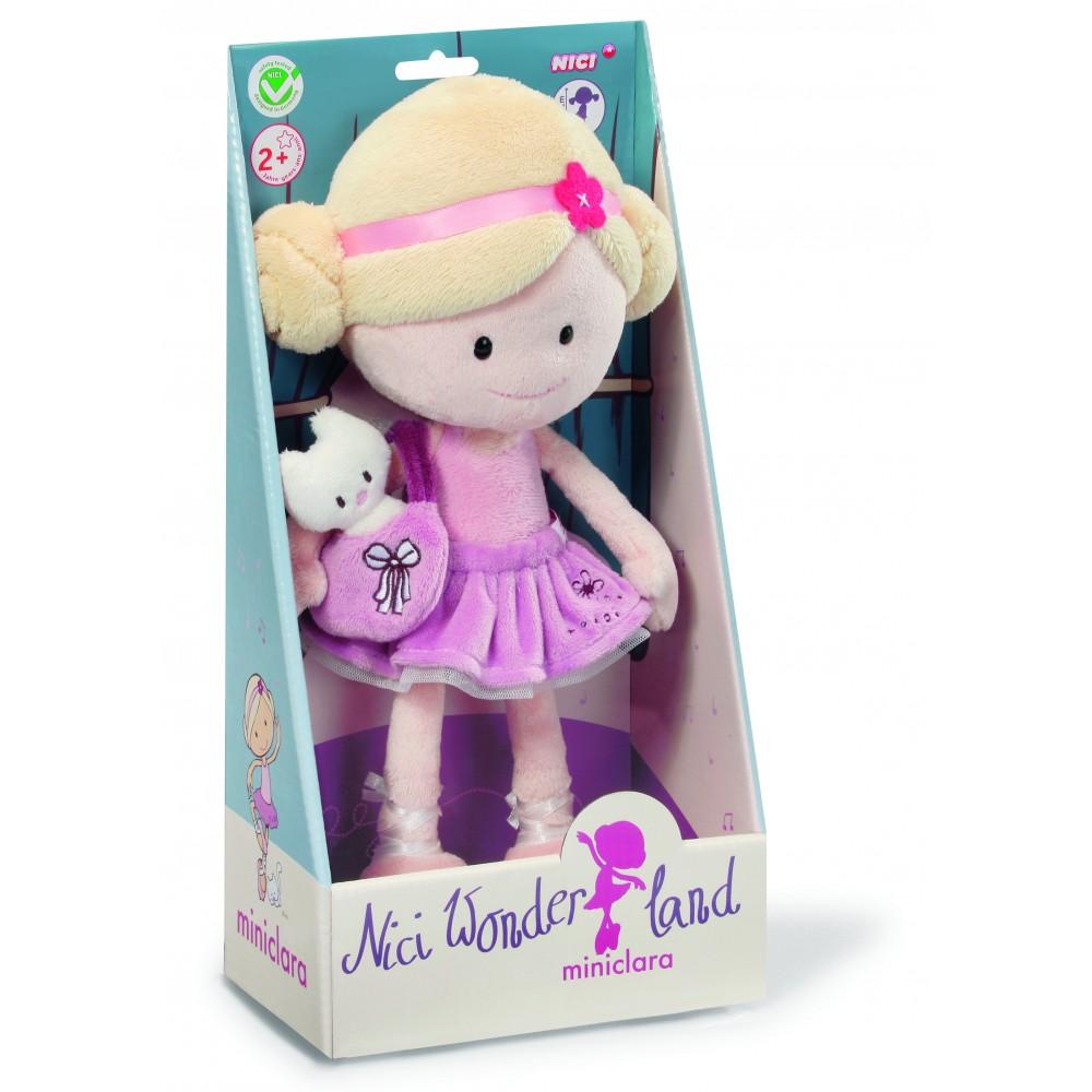 Nici Wonderland Mini Clara Ballerina Doll