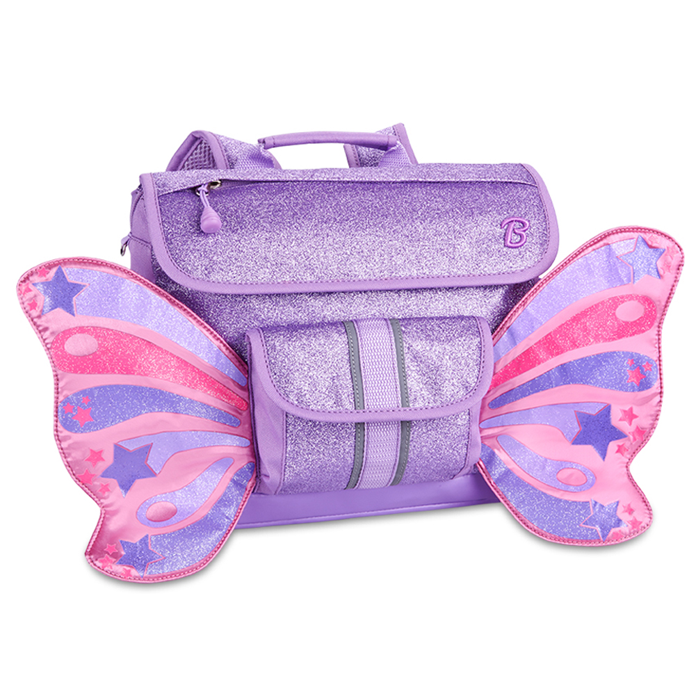 Bixbee Backpack - Small - Sparkalicious Purple Butterflyer