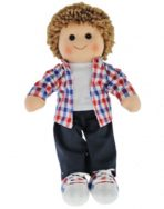 Hopscotch Collectibles Rag Doll - Jack 35cm