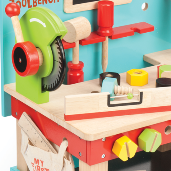 Fabulous Le Toy Van Wooden My First Tool Bench With Tools Ibusinesslaw Wood Chair Design Ideas Ibusinesslaworg