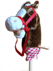 Ride On Wood & Plush Hobby Horse - Spirit