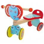 Kaper Kidz Wooden Toddler Ride On - Elephant