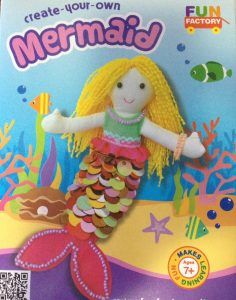 Create Your Own Mermaid Doll Craft Kit