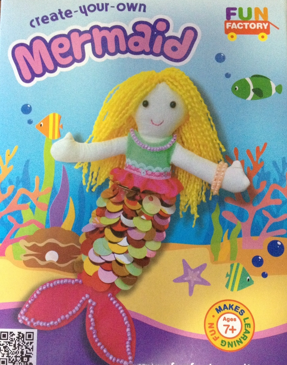 Create Your Own Mermaid Doll Craft Kit Baby Vegas