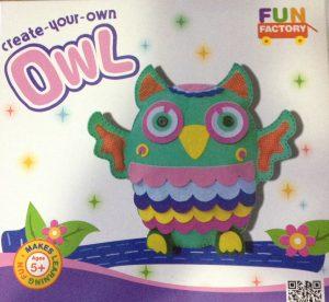 Create Your Own Felt Owl Craft Kit