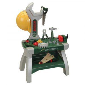 Klein BOSCH Junior Workbench with Tools & Helmet