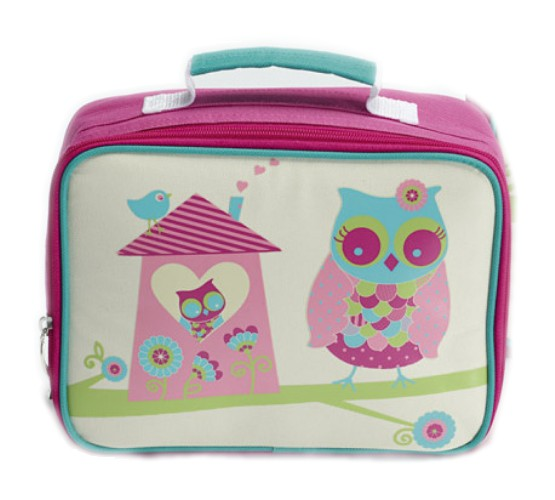 Jiggle & Giggle Insulated Lunch Bag / Box - Owl House