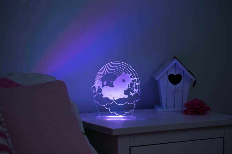 My Dream Light Childrens Led Night Light Unicorn Baby