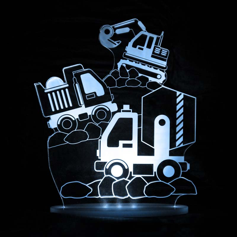 My Dream Light Childrens LED Night Light - Construction