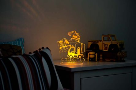 My Dream Light Childrens LED Night Light - Construction