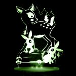 My Dream Light Childrens LED Night Light - Woodlands