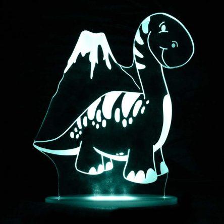 My Dream Light Childrens LED Night Light - Dinosaur