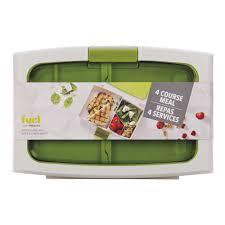 fuel trudeau bento lunch box reusable bpa free. Black Bedroom Furniture Sets. Home Design Ideas