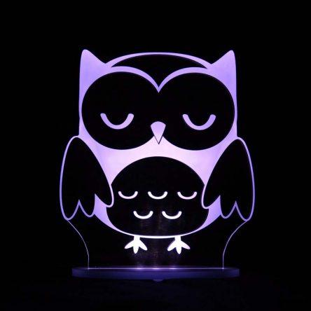 My Dream Light Childrens LED Night Light - Owl