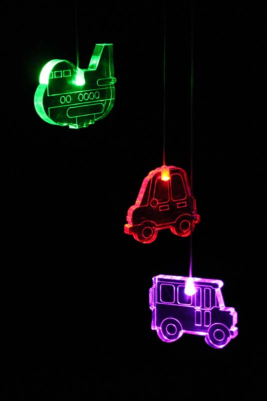 My Dream Light Childrens LED Night Light Mobile - Transport