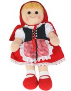 Hopscotch Collectibles Rag Doll - Red Riding Hood 35cm