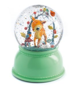 Djeco Night Light Snowglobe - Bambi Fawn