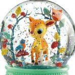 Djeco Night Light Snowglobe - Bambi Fawn