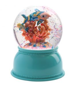 Djeco Night Light Snowglobe - Fishes